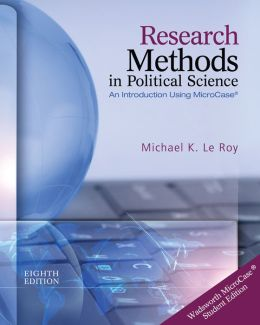 Research Methods in Political Science (Book Only)