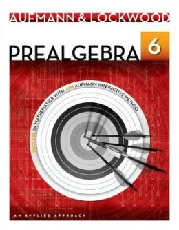 Prealgebra: An Applied Approach