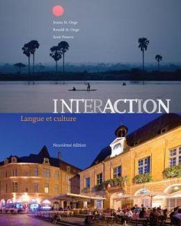 Student Activities Manual (cahier d'activites orales et ecrites) for St. Onge/St. Onge/Powers' Interaction: Langue et culture, 9th