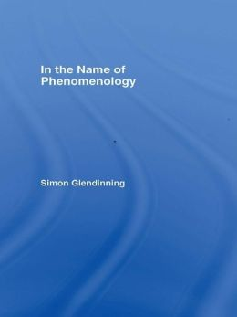 In the Name of Phenomenology