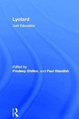 Lyotard: Just Education