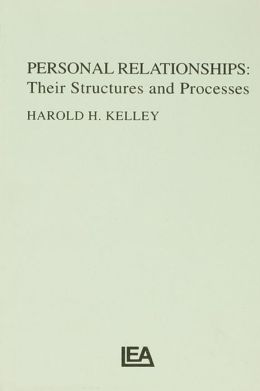 Personal Relationships: Their Structures and Processes