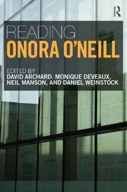 Reading Onora O'Neill