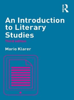 An Introduction to Literary Studies, 3rd edition