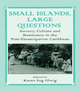 Small Islands, Large Questions: Society, Culture and Resistance in the Post-Emancipation Caribbean