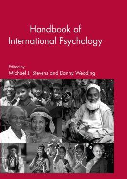 The Handbook of International Psychology