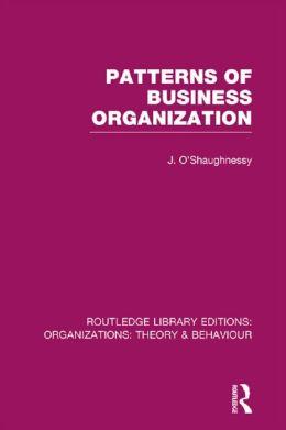 Patterns of business organization.