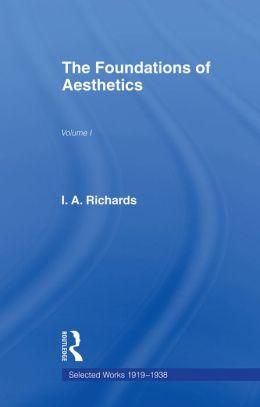 Foundations of Aesthetics Vol 1