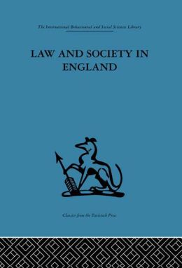 Law and Society in England