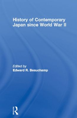 History of Contemporary Japan since World War II