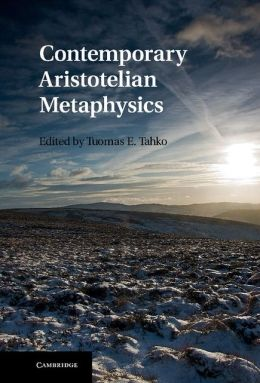 Contemporary Aristotelian Metaphysics