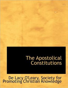 The Apostolical Constitutions