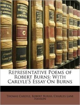 Representative Poems Of Robert Burns