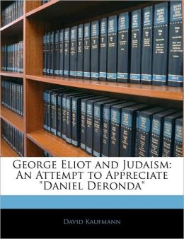 George Eliot And Judaism