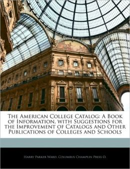 The American College Catalog