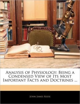 Analysis Of Physiology