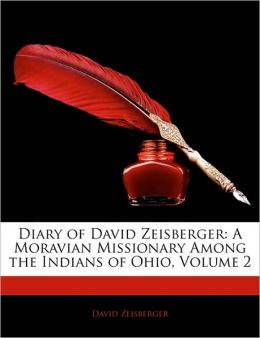 Diary Of David Zeisberger