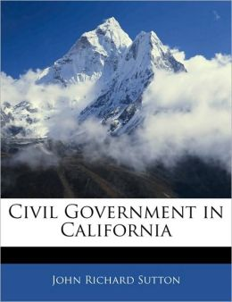 Civil Government In California