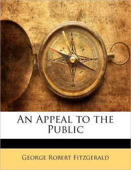 An Appeal To The Public