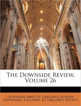 The Downside Review, Volume 26