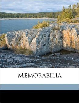 Memorabilia Volume 01-02