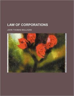 Law Of Corporations