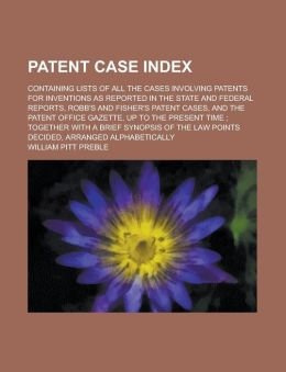 Patent Case Index