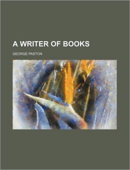 A Writer Of Books