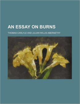 An Essay On Burns