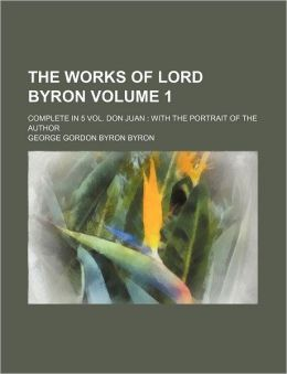The Works Of Lord Byron (Volume 7)