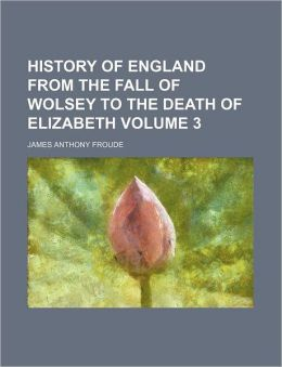 History Of England From The Fall Of Wolsey To The Death Of Elizabeth (Volume 8)