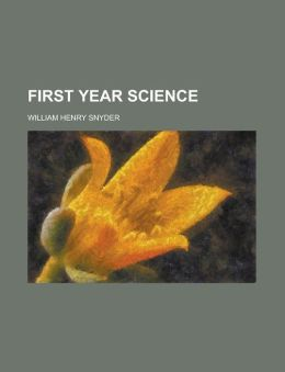 First Year Science