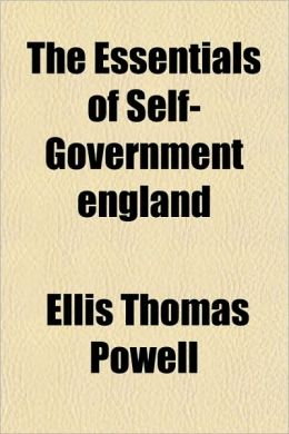 The Essentials of Self-Government England