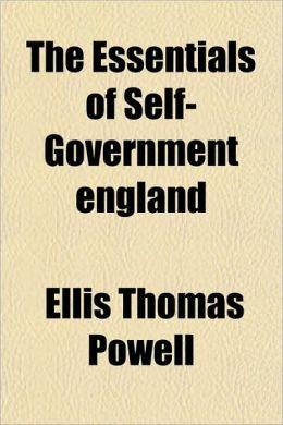 The Essentials of Self-Government England