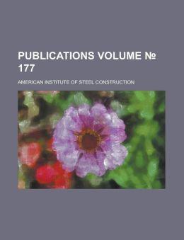 Publications Volume 177