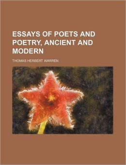 Essays of Poets and Poetry, Ancient and Modern