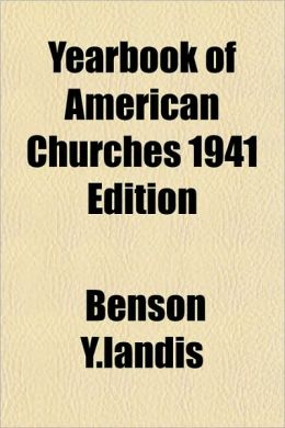 Yearbook of American Churches 1941 Edition