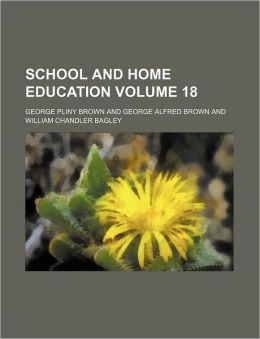 School and home education Volume 18