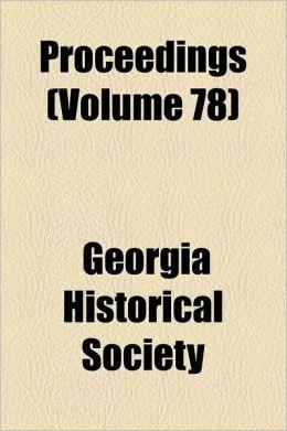 Proceedings Volume 78