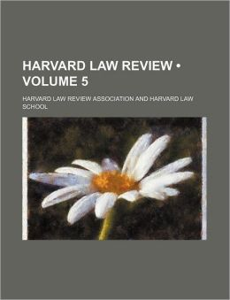 Harvard Law Review (Volume 5)