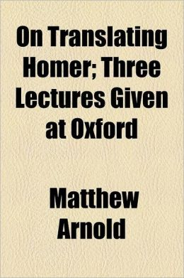On Translating Homer