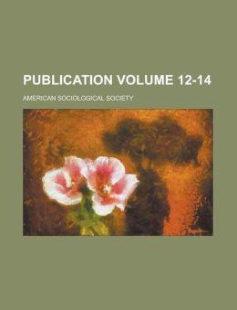 Publication Volume 12-14