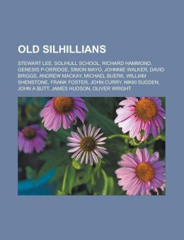 Old Silhillians: Stewart Lee, Solihull School, Richard Hammond, Genesis P-Orridge, Simon Mayo, Johnnie Walker, David Briggs, Andrew Mac