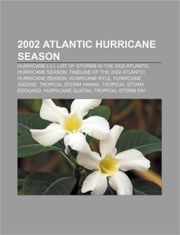 2002 Atlantic hurricane season: Hurricane Lili, List of storms in the 2002 Atlantic hurricane season