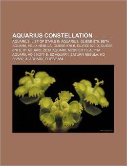 List of stars in Aquarius