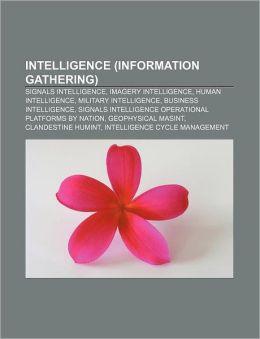 Intelligence (Information Gathering)