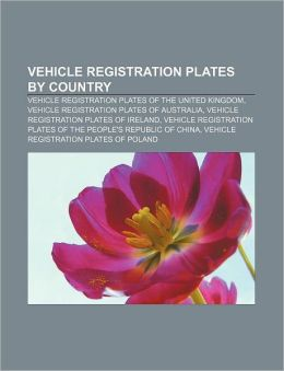 Vehicle registration plates by country: Vehicle registration plates of the United Kingdom, Vehicle registration plates of Australia