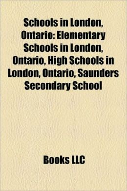 Schools in London, Ontario: Elementary Schools in London, Ontario, High Schools in London, Ontario, Saunders Secondary School