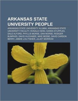 Arkansas State University people: Arkansas State University alumni, Arkansas State University faculty, Ronald Herd, Karen Stupples, Dale Alford