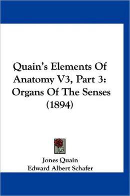 Quain's Elements Of Anatomy V3, Part 3